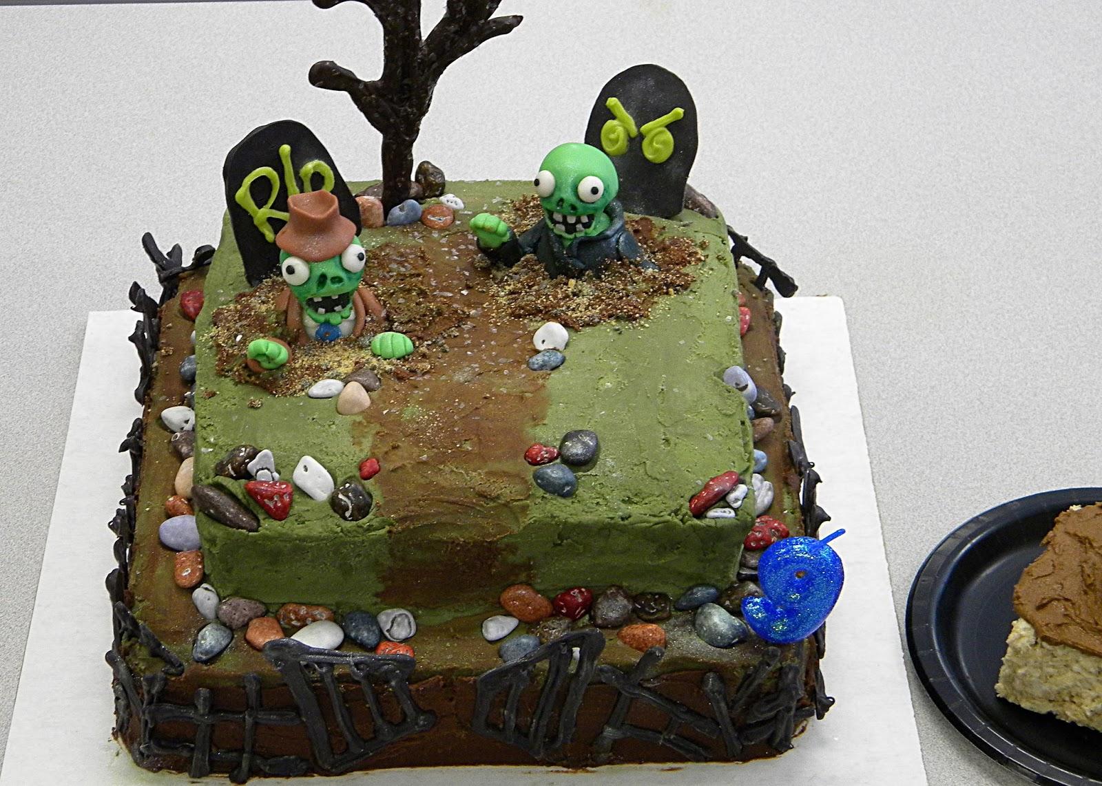 Disgusting Halloween Cake