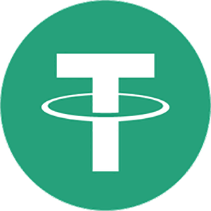 Tether Price in USD, Market Cap, Volume, and Ranking