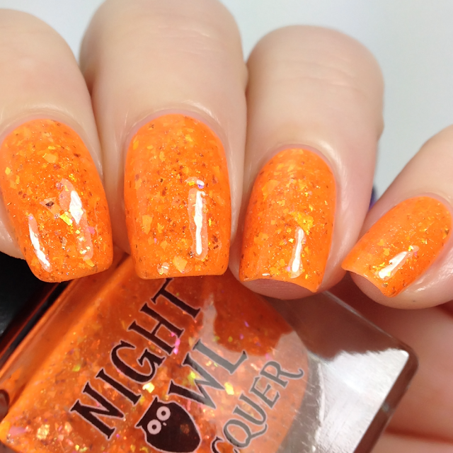Night Owl Lacquer-I Saw a Tiger