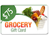 Collect 100 Points - Get $75 Grocery Shop Gift Card