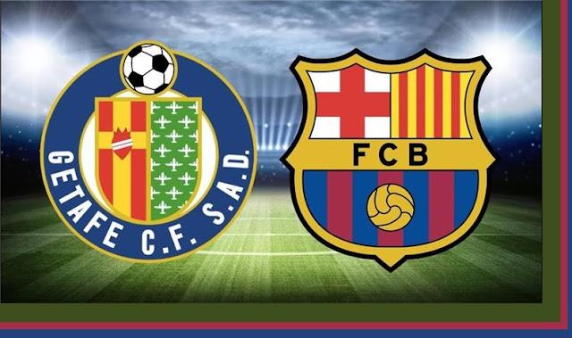 مشاهدة مباراة خيتافي وبرشلونة بث مباشر اليوم فى الدوري الاسبانى اون لاين بدون تقطيع