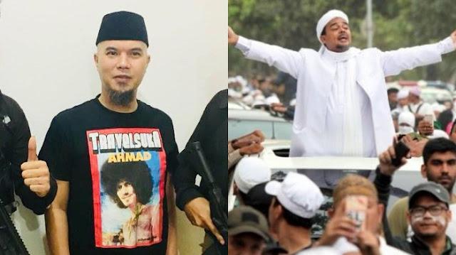 Ngenes! Terancam Hukuman 6 Tahun Penjara, Ahmad Dhani Minta Rizieq Shihab Jangan Pulang Agar Tak Bernasib Seperti Dirinya..