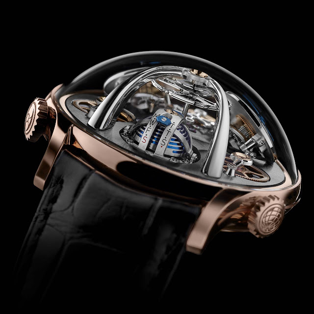 MB&F LMX Red Gold