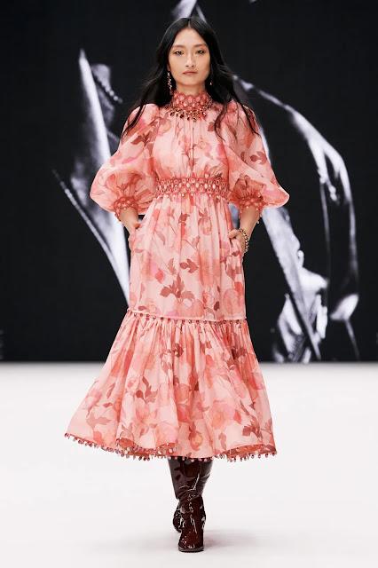 Zimmermann NYFW fashion show by Kelly Fountain