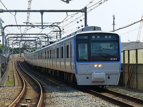 【ダイヤ改正前に運行終了!】9000系幕車の快速 横浜行き