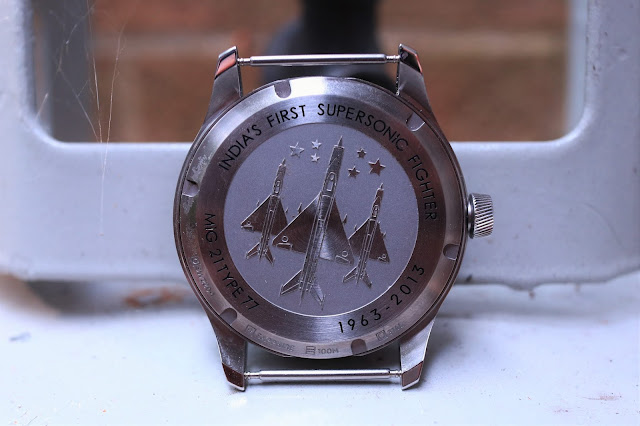 Bangalore Watch Company Mach 1A case back