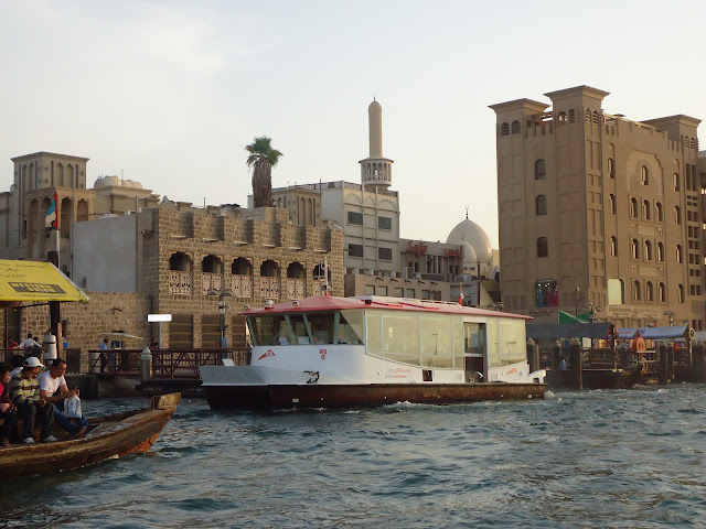 Public water bus at the Dubai Creek