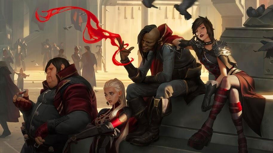 Legends of Runeterra, Crimson Awakener, 4K, #4.1515
