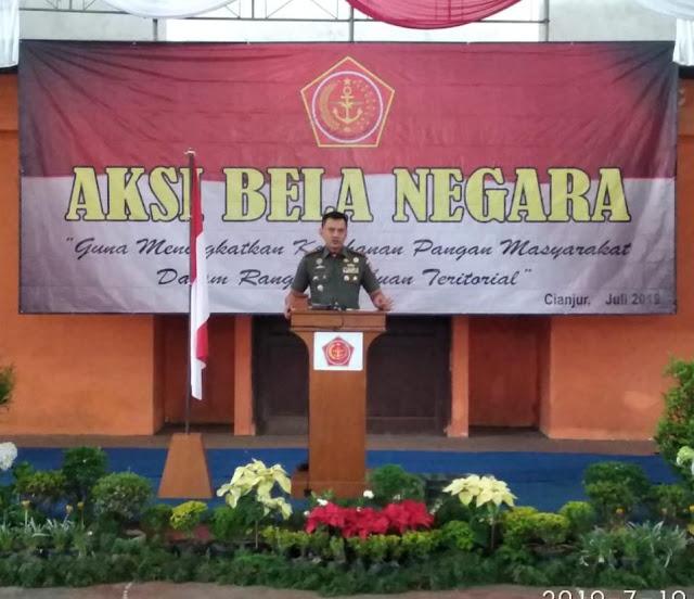 Korem 071/Wk Gelar Aksi Bela Negara Kenalkan Wijayakusuma Nutrition pada Para Petani