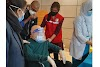 Former Finance Minister Abul Maal Abdul Muhith took the vaccine