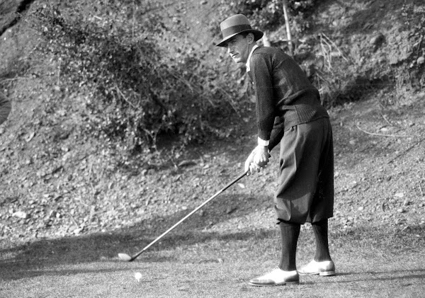 Tommy Armour pictured at Riviera Country Club in 1926