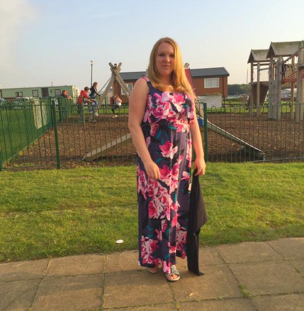 Dress, Floral Dress, JD Williams, Maxi Dress, Tropical Print, Jersey Maxi Dress,
