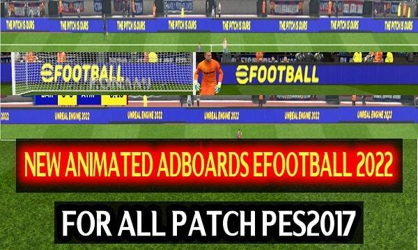 PES 2017 New Adboards eFootball 2022