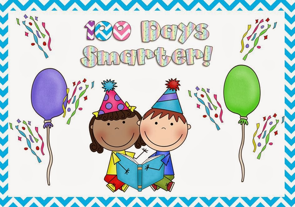 Celebrating 100 Days Of School on Free 100 Days Of School Clipart Happy 100th Day