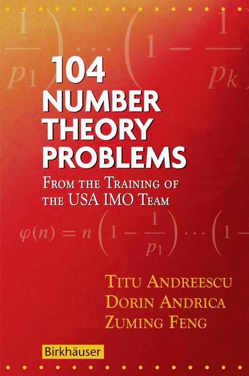 104 Number Theory Problems – Titu Andreescu