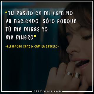 captura del video mi persona favorita de Alejandro Sanz y Camila cabello