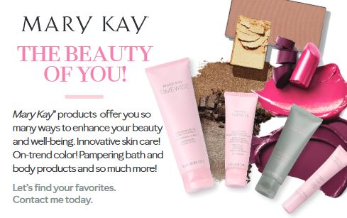 Shop Mary Kay with Me!  Your orders are sent straight to your door!