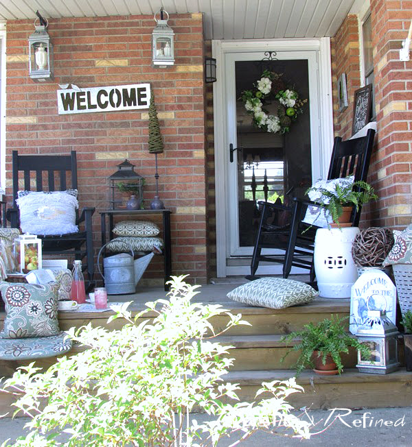 Southern porch decor