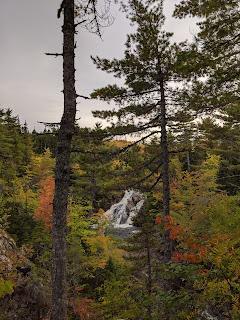 Mary Ann Falls Along The Cabot Trail, Cape Breton Island