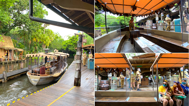 Disney Magic Kingdom Reopening Preview, Jungle Cruise Adventureland, New Safety Precaution and Social-distancing Practice