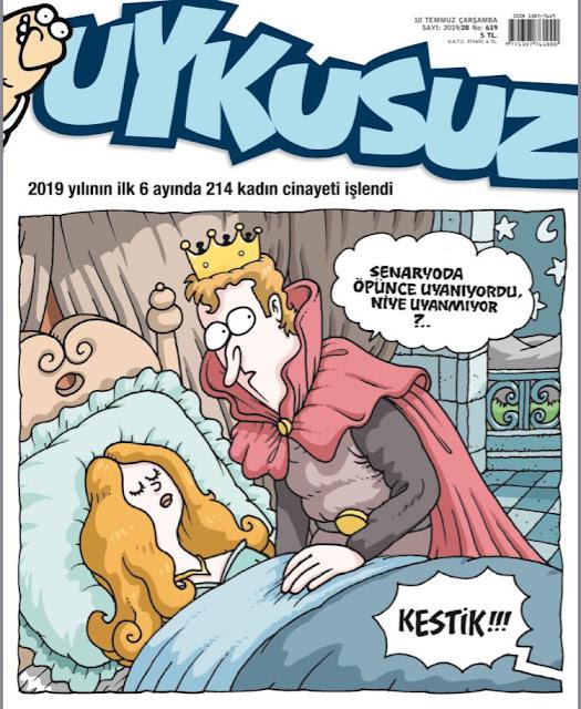 Uykusuz Dergisi | 10 Temmuz 2019 Kapağı