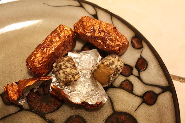 Buttery Caramel Roca candies from my October Degusta Box