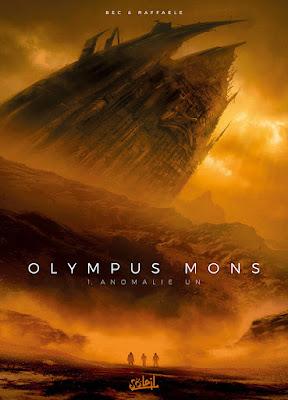 Couverture de OLYMPUS MONS T1 de Bec et Raffaele chez Soleil