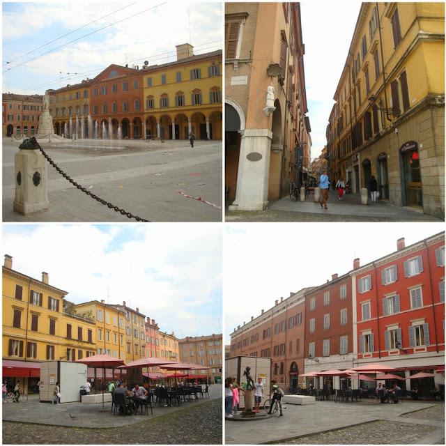 O que fazer em Modena? Roteiro para algumas horas na cidade da Ferrari - Piazza Roma