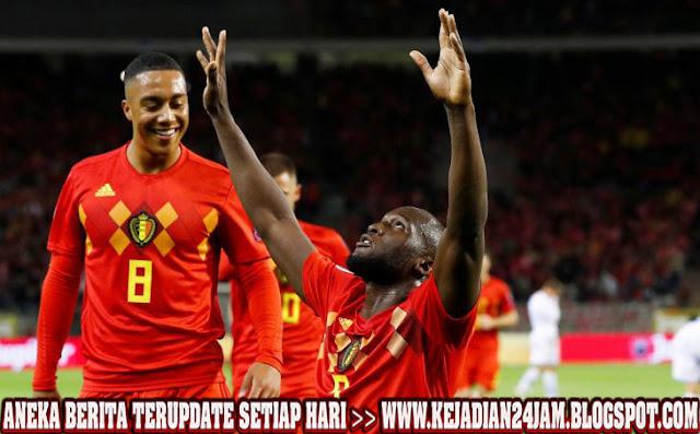 Belgia Pesta Gola Ke Gawang San Marino Dini Hari Tadi