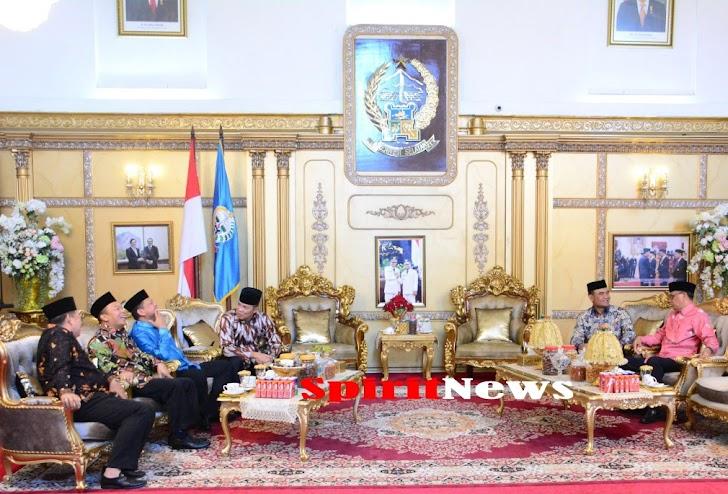 Hari Kedua Idul Fitri, Tiga Petinggi TNI dan Petinggi Polri Silaturahmi ke Gubernur Sulsel