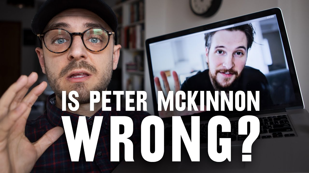 DONE is better than PERFECT: Is Peter McKinnon's approach wrong or right?