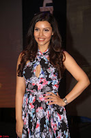 Kyra Dutta in a Deep neck Small Dress at Shamanthakamani pre release function ~  Exclusive 116.JPG