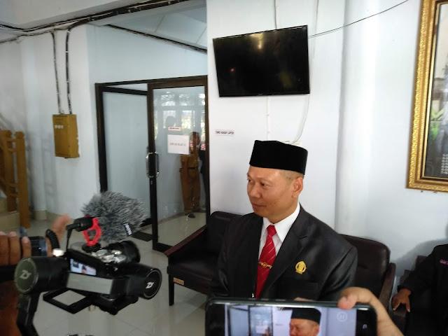 Usai Dilantik, Andi Alauddin Jadi Pimpinan DPRD Sementara
