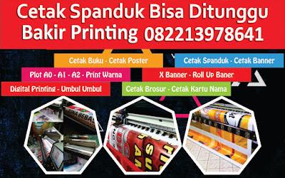 tempat cetak spanduk 24 jam Jakarta