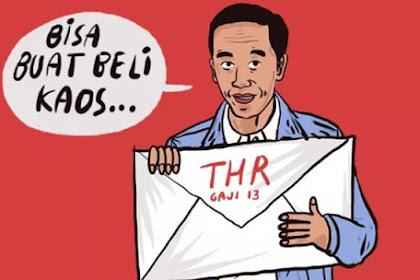 BPN Curigai Jokowi Percepat Pencairan THR: Untuk Mendulang Dukungan dari ASN