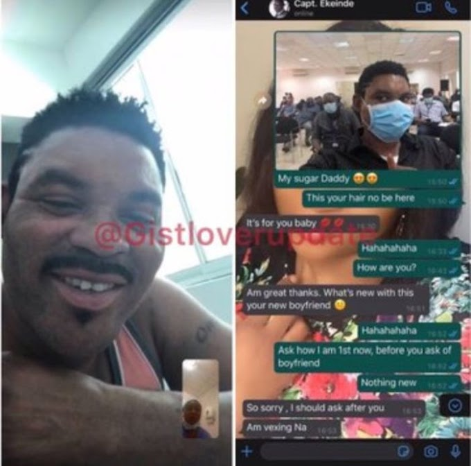 """""""I Want My Personal Time With You Uninterrupted"""" – Alleged Leaked Chat Between Omotola Jalade's Husband And His Side Chick"""