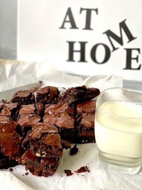 Outrageous Brownies homemade recipe