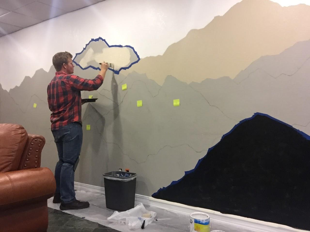 The Alaskan Muse Diy Mountain Mural