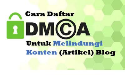 cara daftar DMCA - Universitas Alma Ata