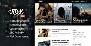 Vox Blogger template download |