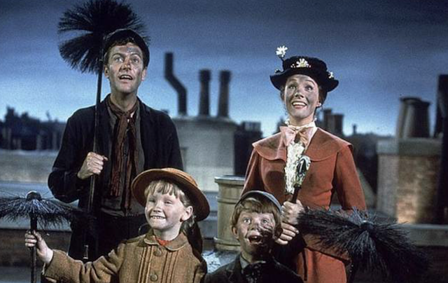 Mary Poppins branded racist by US academic over scene where she gets covered in soot