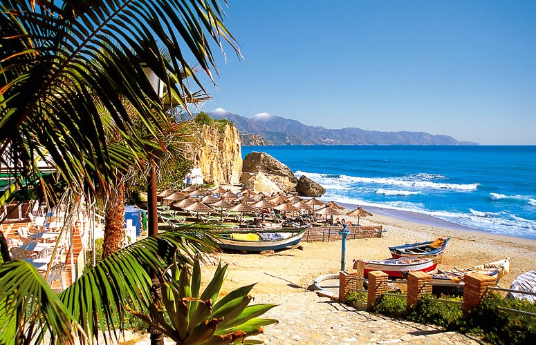 Nerja beaches, Spain
