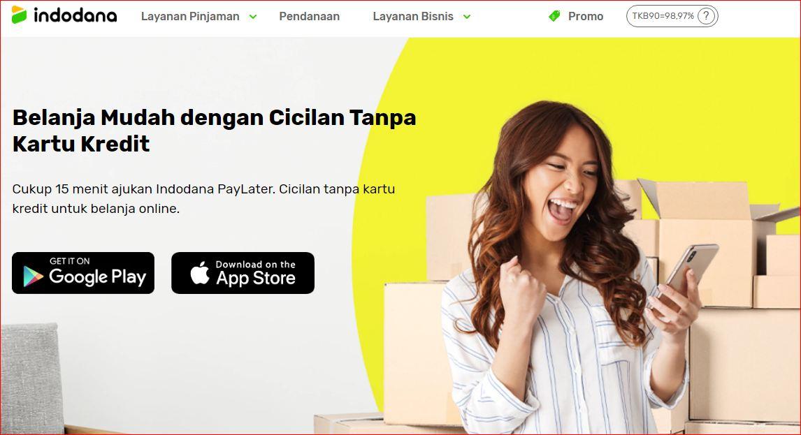 pinjaman online bunga rendah tanpa jaminan