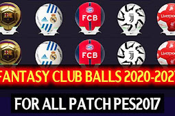New Fantasy Ballpack For Club - PES 2017