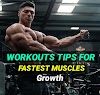 16 Gym Workouts Tips For Fastest  Muscles Growths