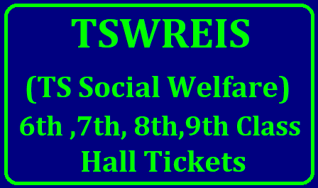 TSWREIS (TS Social Welfare) 6th ,7th, 8th,9th Class Hall Tickets , Results 2019/2019/06/tswreis-6th-7th-8th-9th-classes-entrance-test-hall.ticket-results-ts-social-welfare.html