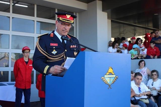 """Presidente da Federação deixa """"Uma Mensagem de Esperança e de Resiliência"""" aos Bombeiros"""