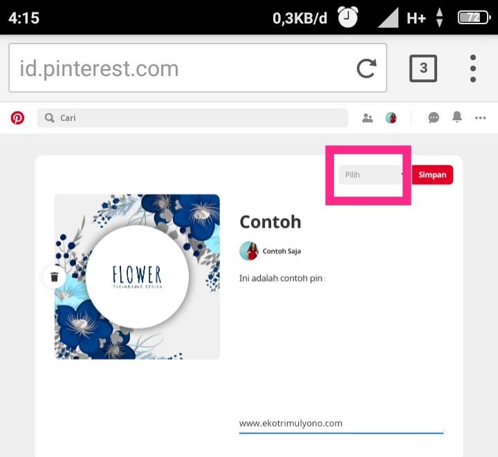 Aplikasi Pinterest itu buat apa?
