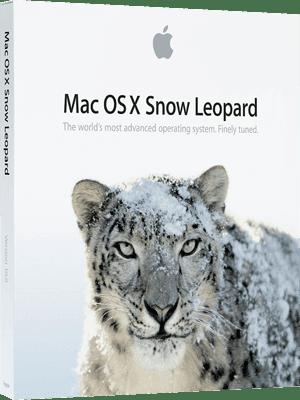 Mac OS X Snow Leopard v10.6 box