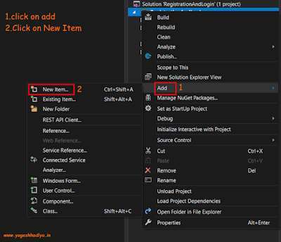 Create Login(Sign In) and Registration (Sign Up) Form in C# Windows Form With Database